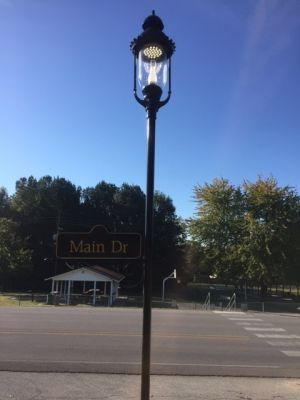 Street Light and Sign Design